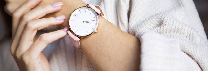 montre pour femmes